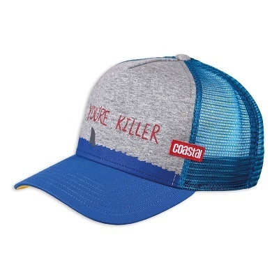 Retro Coastal Cap Trucker Mash Basecap Killer Dude