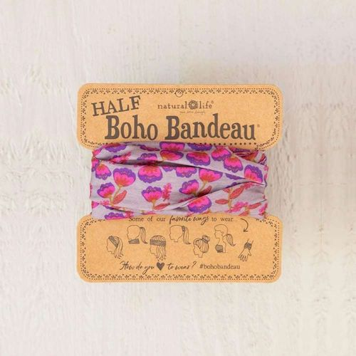 Natural Life Bandeau Haarband Purple Pink Tulip