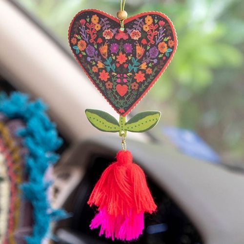 Natural Life Lufterfrischer Air Freshener Heart Flower