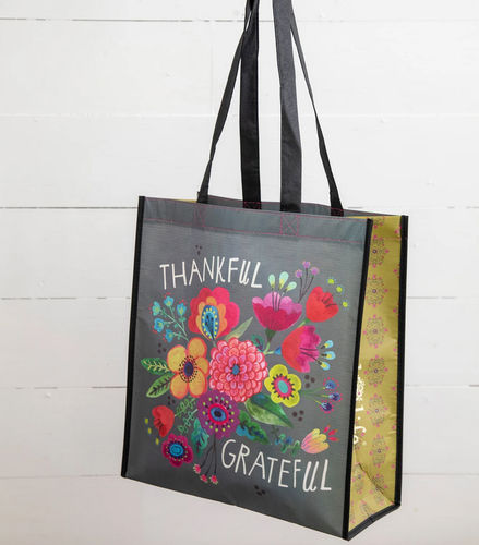 Natural Life Recycled Tasche Thankful XL