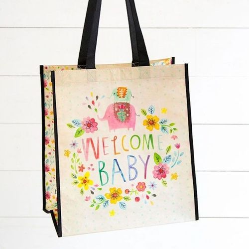 Natural Life Recycled Tasche XL Welcome Baby