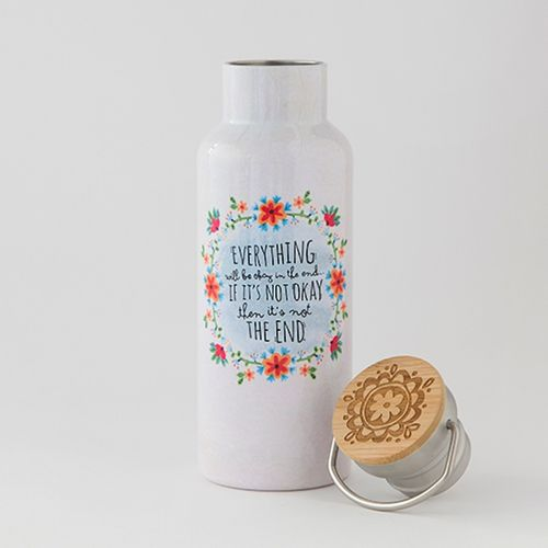 Natural Life Thermosflasche Bottle Trinkflasche Everything