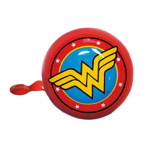 DC Comics Fahrradklingel Bicycle Bell Wonder Woman Logo