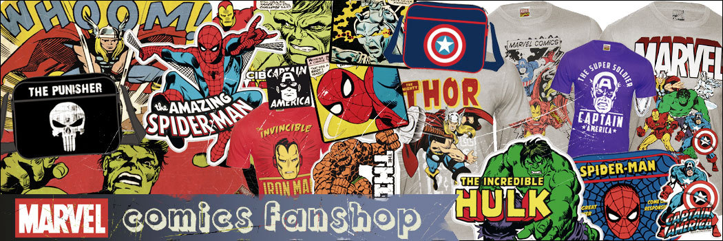 Marvel-Comics-Fanartikel